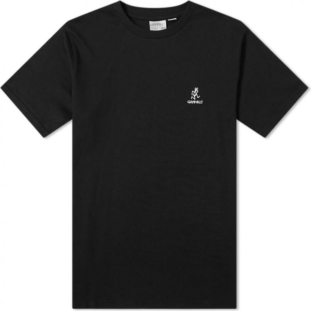 グラミチ Gramicci メンズ ランニング・ウォーキング Tシャツ トップス【Big Running Man Tee】Black