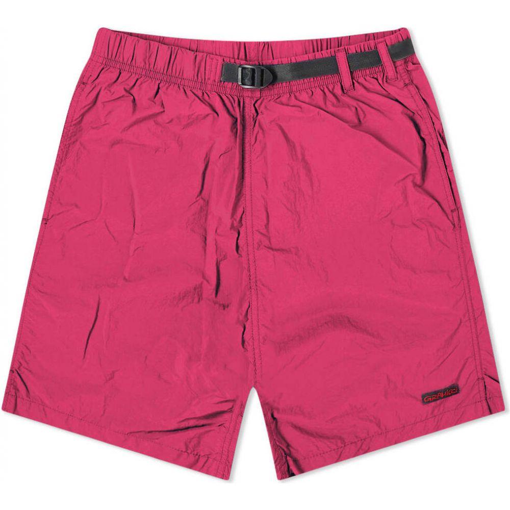 グラミチ Gramicci メンズ ショートパンツ ボトムス・パンツ【Shell Packable Short】Raspberry