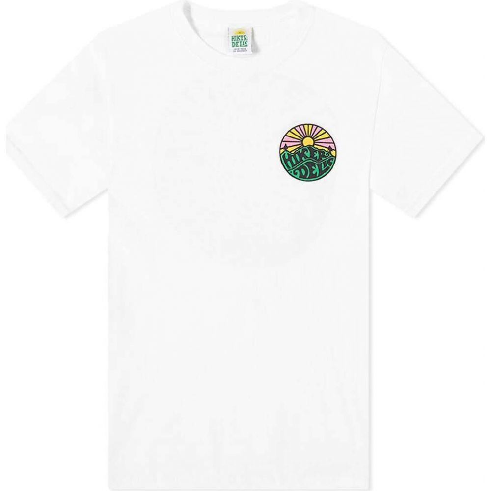 Hikerdelic メンズ Tシャツ ロゴTシャツ トップス【Original Logo Tee】White