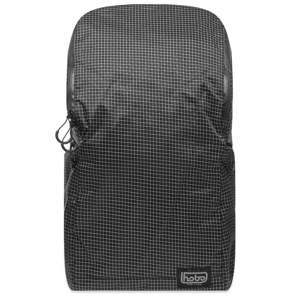 ホーボー hobo メンズ バックパック・リュック バッグ【HOBO Spectra X-Gridstop Nylon Backpack 24L】Black
