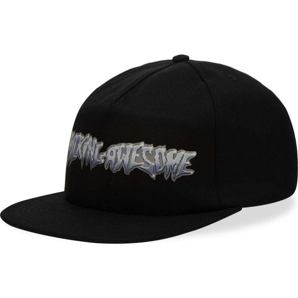 ファッキングオーサム Fucking Awesome メンズ キャップ 帽子【Chrome 5 Panel Cap】Black