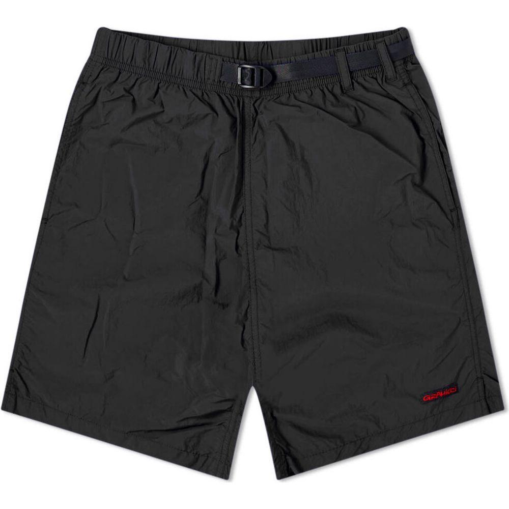 グラミチ Gramicci メンズ ショートパンツ ボトムス・パンツ【Nylon Packable G-Short】Black