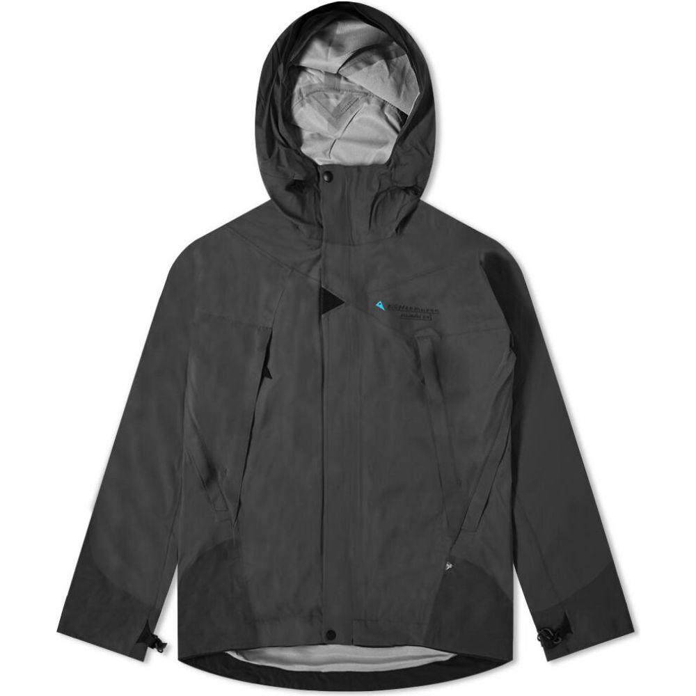 クレッタルムーセン Klattermusen メンズ ジャケット フード アウター【Allgron 2.0 Hooded Jacket】Black