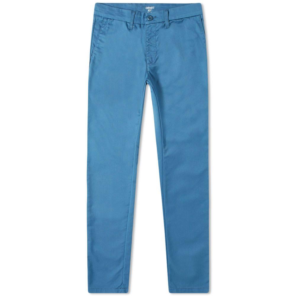 カーハート Carhartt WIP メンズ チノパン ボトムス・パンツ【carhartt sid pant】Prussian Blue