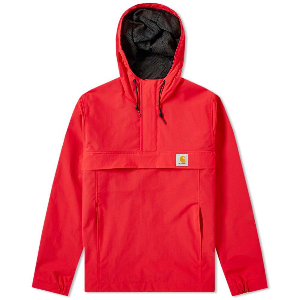 カーハート Carhartt WIP メンズ ジャケット アウター【carhartt nimbus pullover jacket】Cardinal
