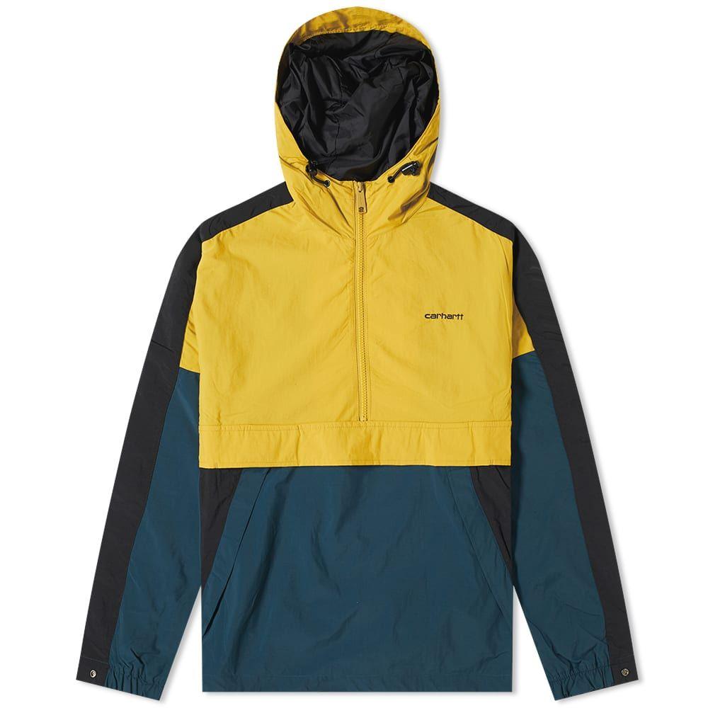 カーハート Carhartt WIP メンズ アウター 【carhartt barnes pullover】Colza/Duck Blue/Black