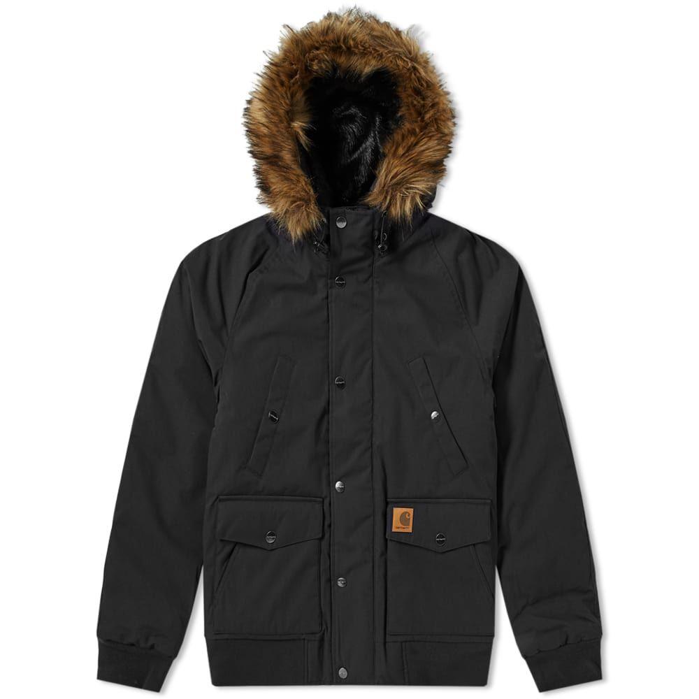 カーハート Carhartt WIP メンズ ジャケット アウター【carhartt trapper jacket】Black