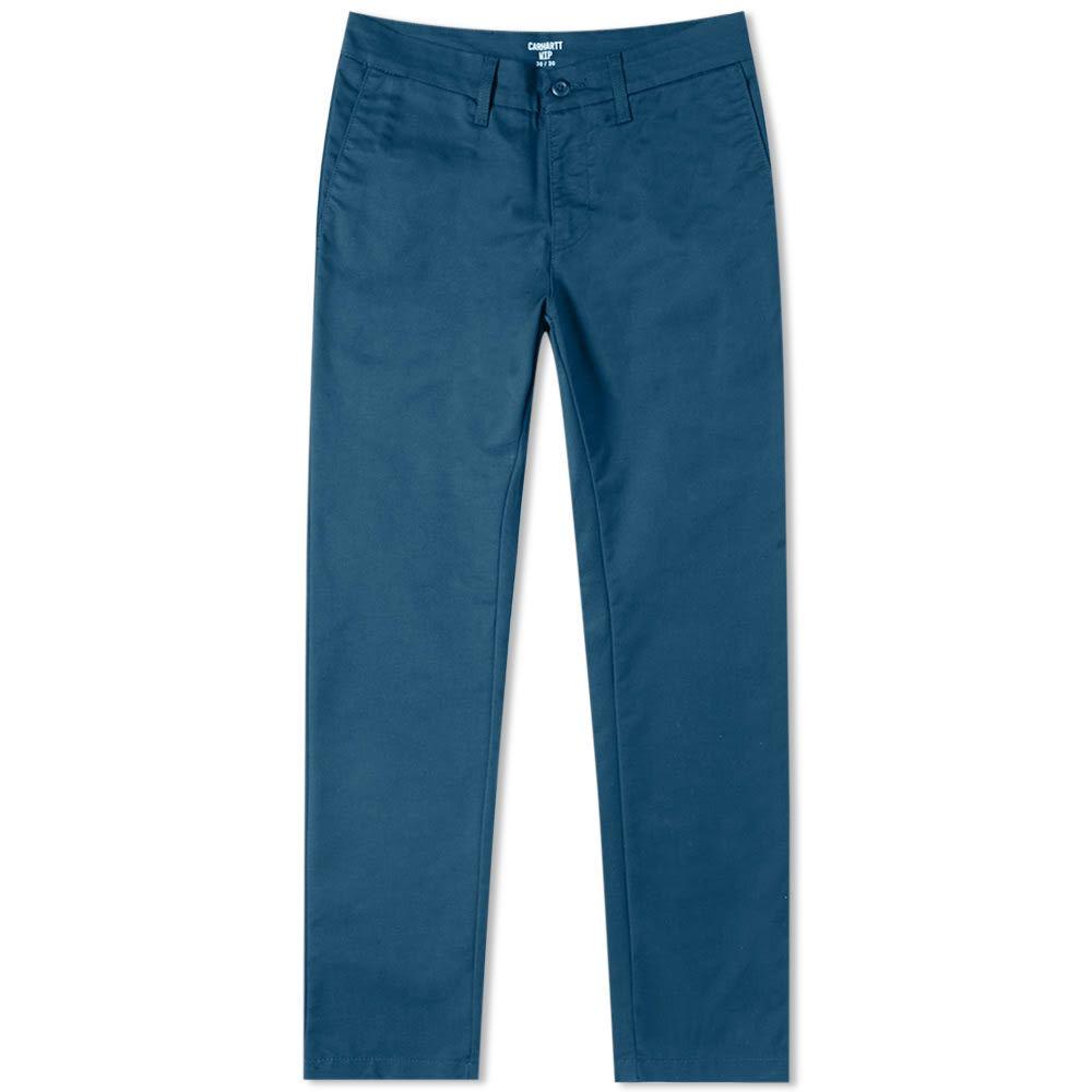 カーハート Carhartt WIP メンズ チノパン ボトムス・パンツ【carhartt sid pant】Duck Blue