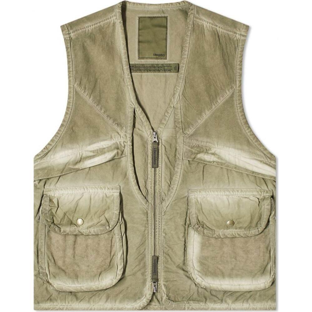 リベレイダース Liberaiders メンズ ベスト・ジレ トップス【Overdyed Combat Vest】Olive