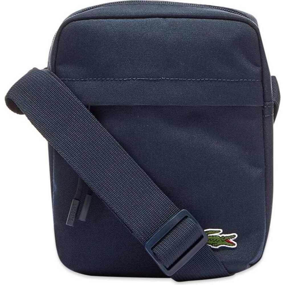 ラコステ Lacoste メンズ ショルダーバッグ カメラバッグ バッグ【Vertical Camera Bag】Navy
