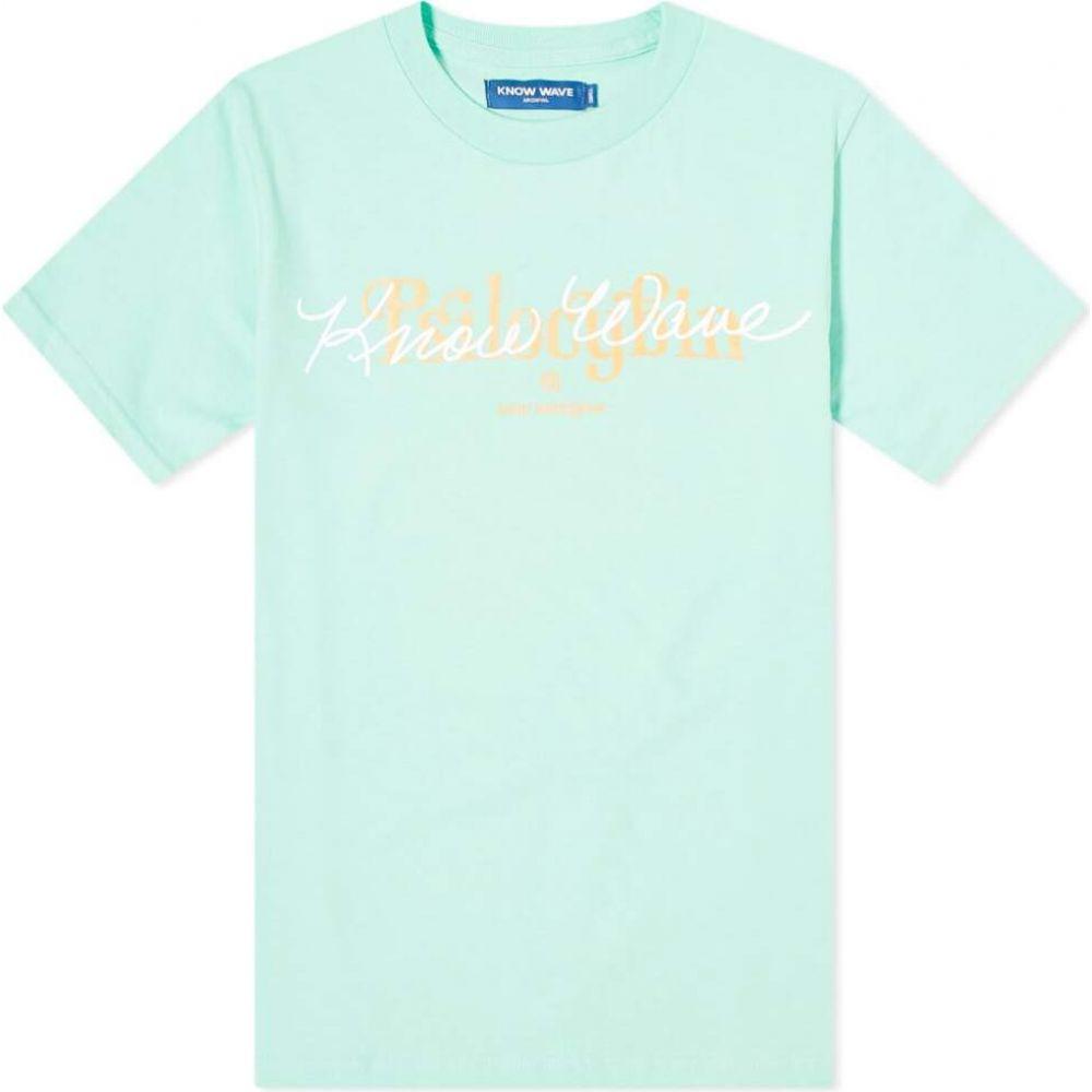 ノウ ウェイブ Know Wave メンズ Tシャツ トップス【Psilocybin Tee】Island Reef