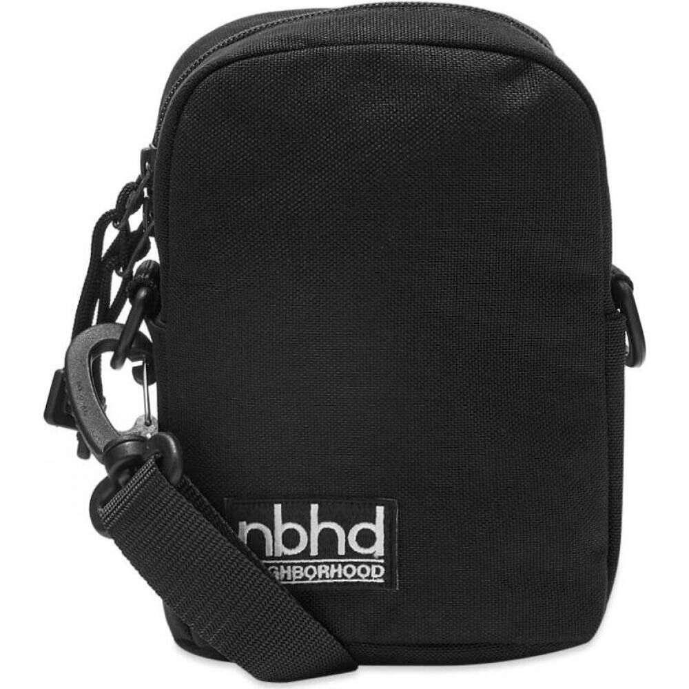 ネイバーフッド Neighborhood メンズ メッセンジャーバッグ バッグ【Shoulder Bag】Black