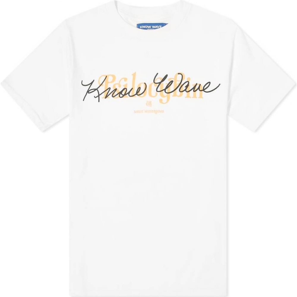 ノウ ウェイブ Know Wave メンズ Tシャツ トップス【Psilocybin Tee】White
