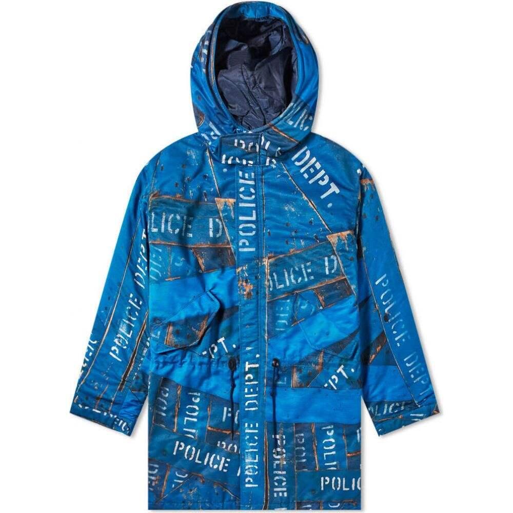 ネイバーフッド Neighborhood メンズ コート アウター【x Kostas Seremetis Coat】Blue