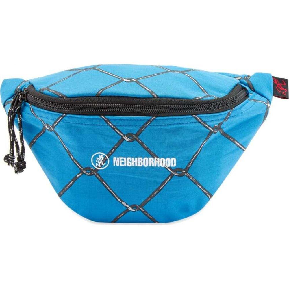 ネイバーフッド Neighborhood メンズ メッセンジャーバッグ バッグ【x Gramicci Wire Luggage Bag】Blue
