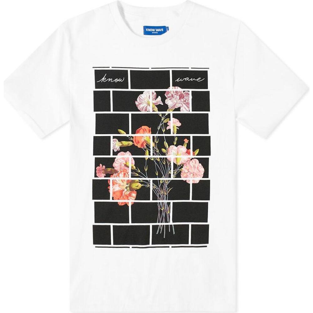ノウ ウェイブ Know Wave メンズ Tシャツ トップス【Arrangements Tee】White