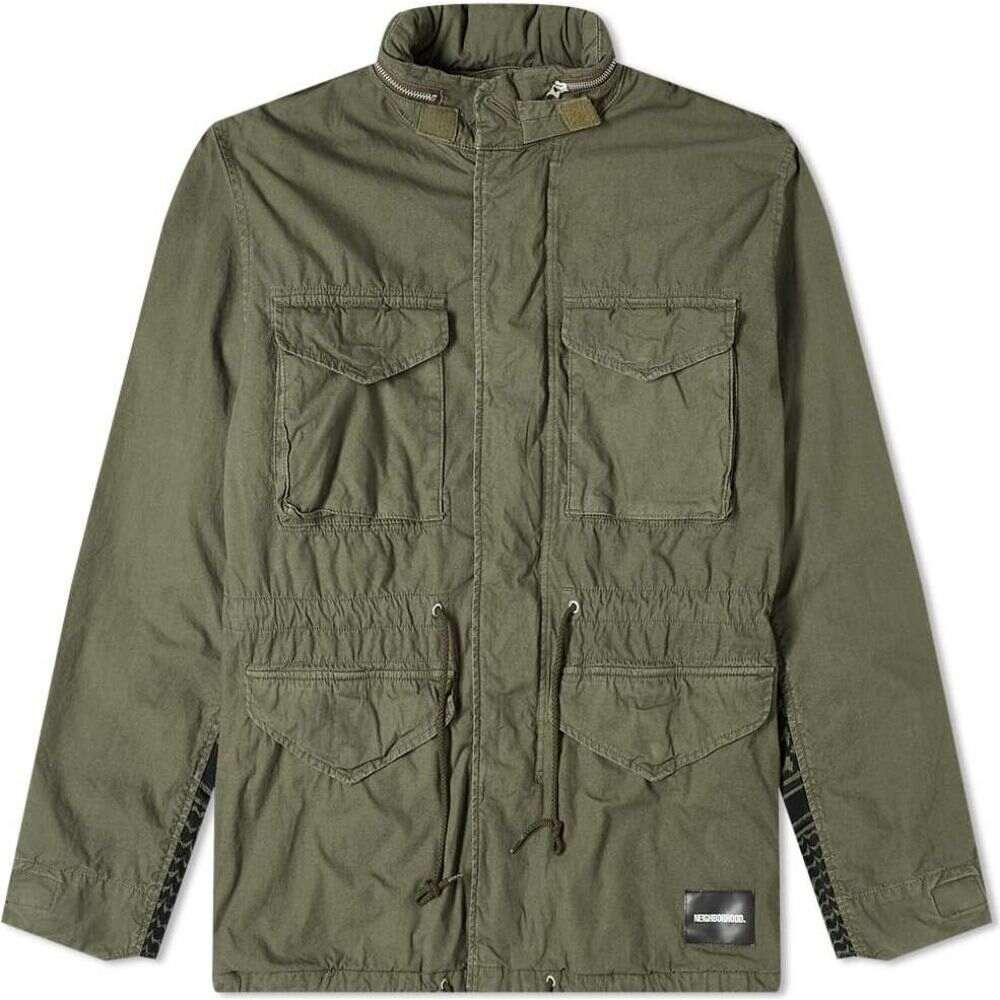 ネイバーフッド Neighborhood メンズ ジャケット フィールドジャケット アウター【M-65 SMG Jacket】Olive Drab