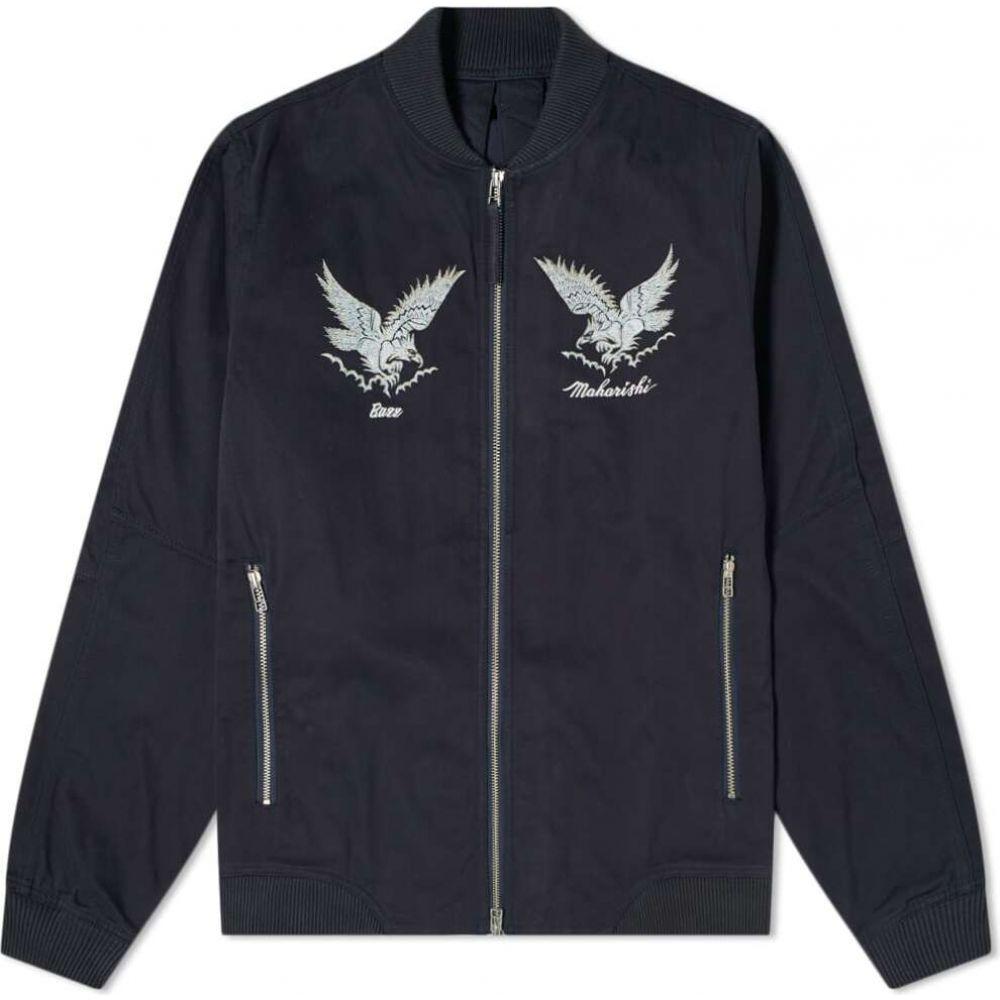 マハリシ Maharishi メンズ ジャケット アウター【Drone Eagle Organic Tour Jacket】Navy
