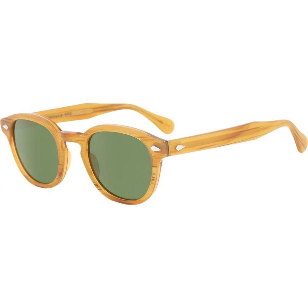 モスコット Moscot メンズ メガネ・サングラス 【Lemtosh Sunglasses】Blonde/Green