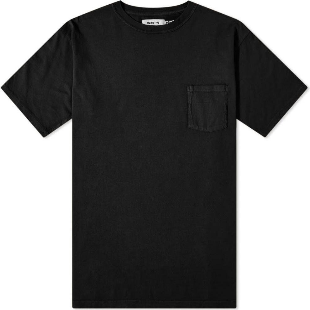 ノンネイティブ Nonnative メンズ Tシャツ トップス【Dweller Overdyed Tee】Black