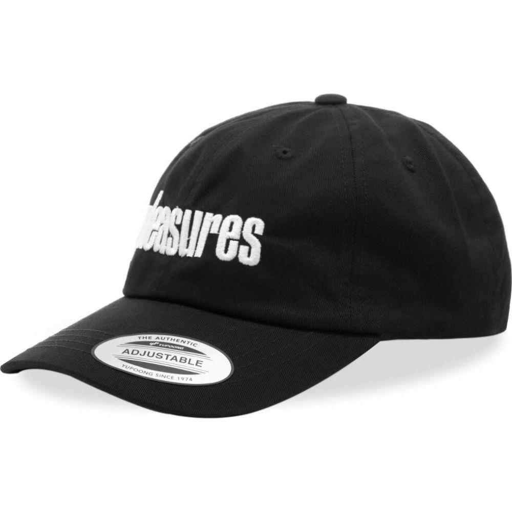 プレジャーズ PLEASURES メンズ キャップ 帽子【Alone Cap】Black