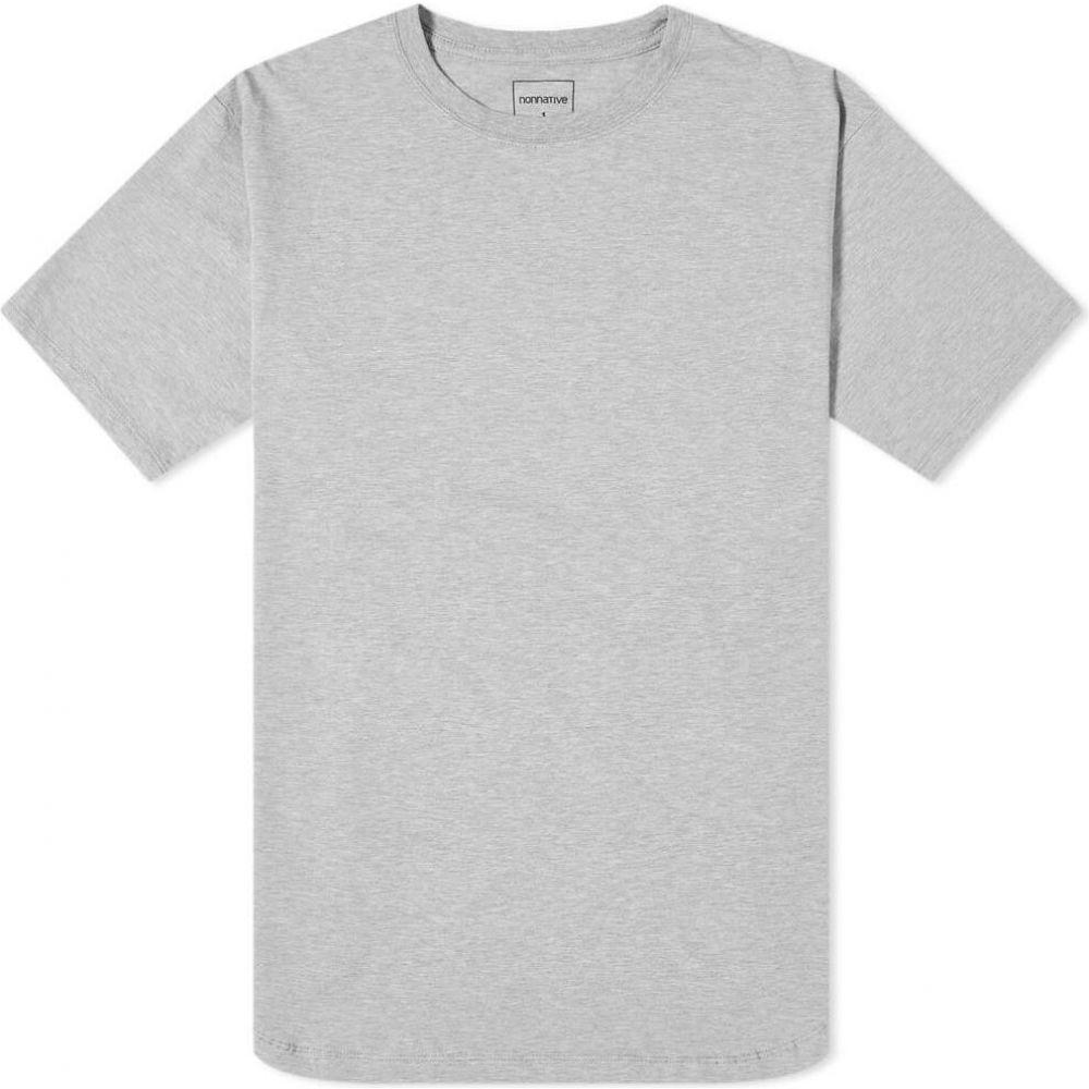 ノンネイティブ Nonnative メンズ Tシャツ トップス【Festival Tee】Heather Grey