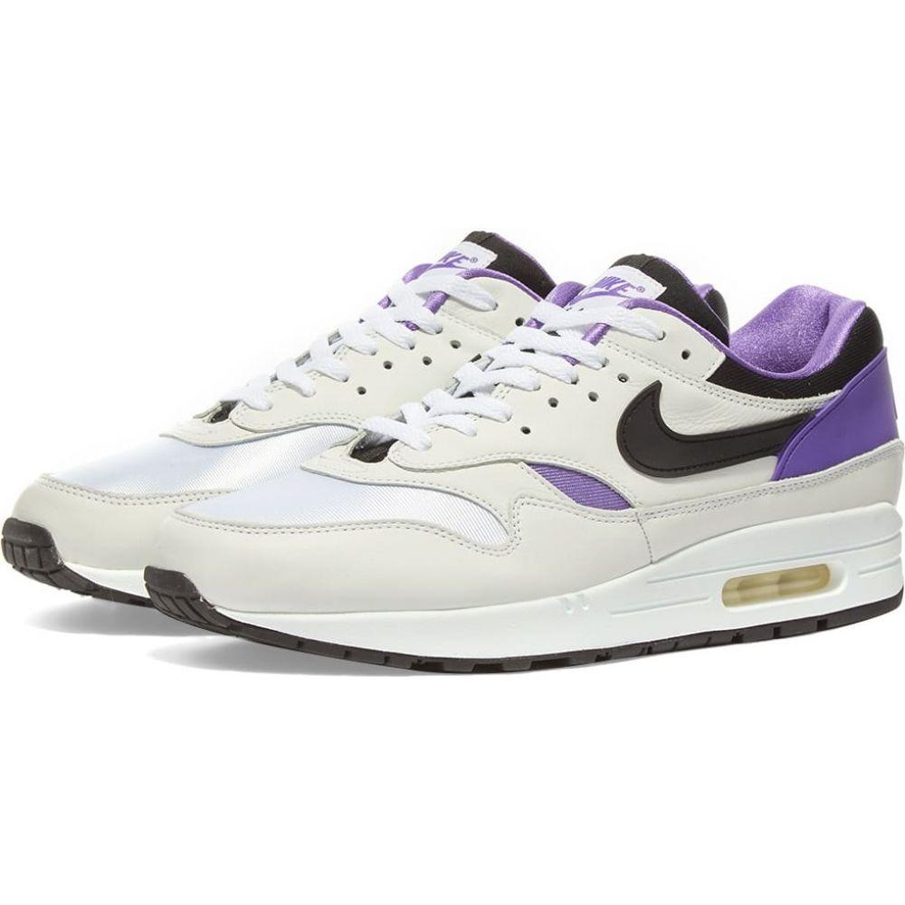 ナイキ Nike メンズ スニーカー シューズ・靴【Air Max 1 DNA】White/Black/Purple Punch