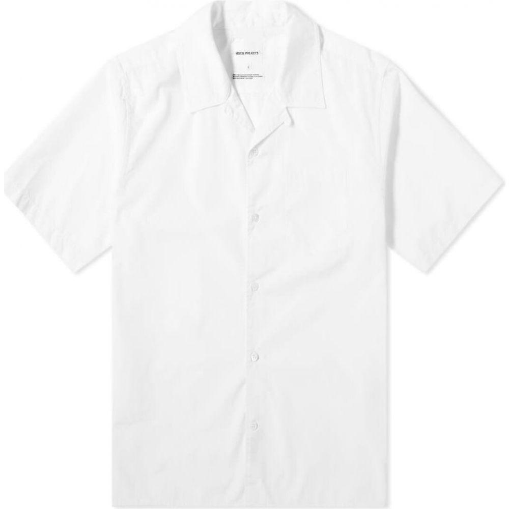 ノースプロジェクト Norse Projects メンズ 半袖シャツ トップス【Carsten Vacation Shirt】White