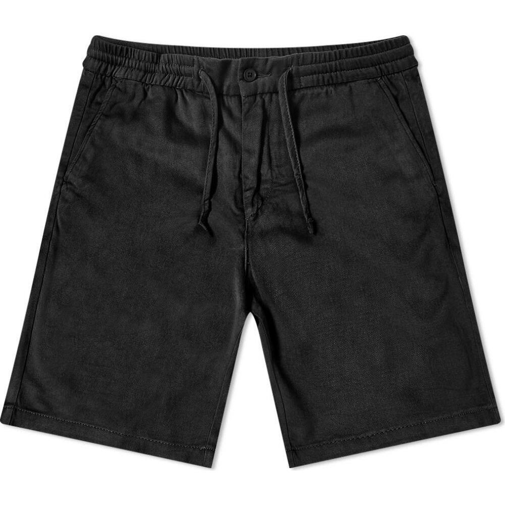 NN07 メンズ ショートパンツ ボトムス・パンツ【Seb Drawstring Short】Black