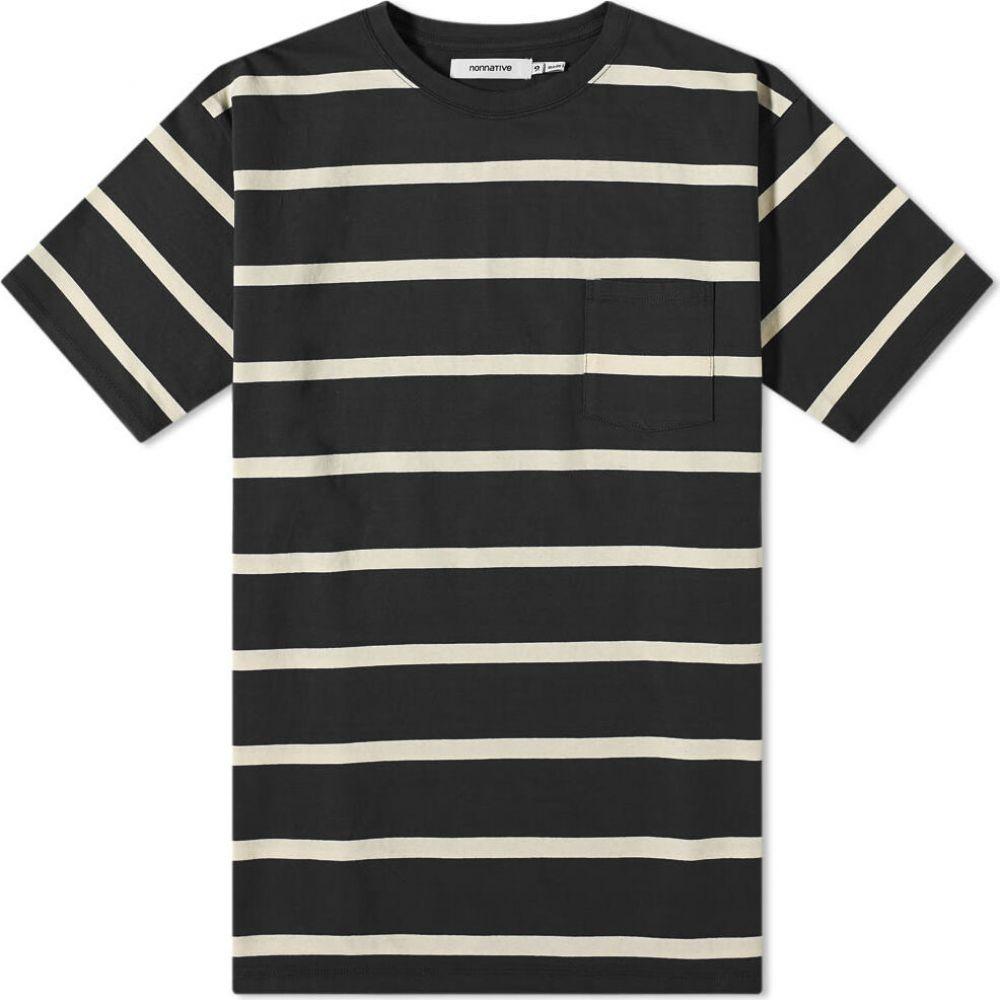 ノンネイティブ Nonnative メンズ Tシャツ トップス【Dweller Tee】Black