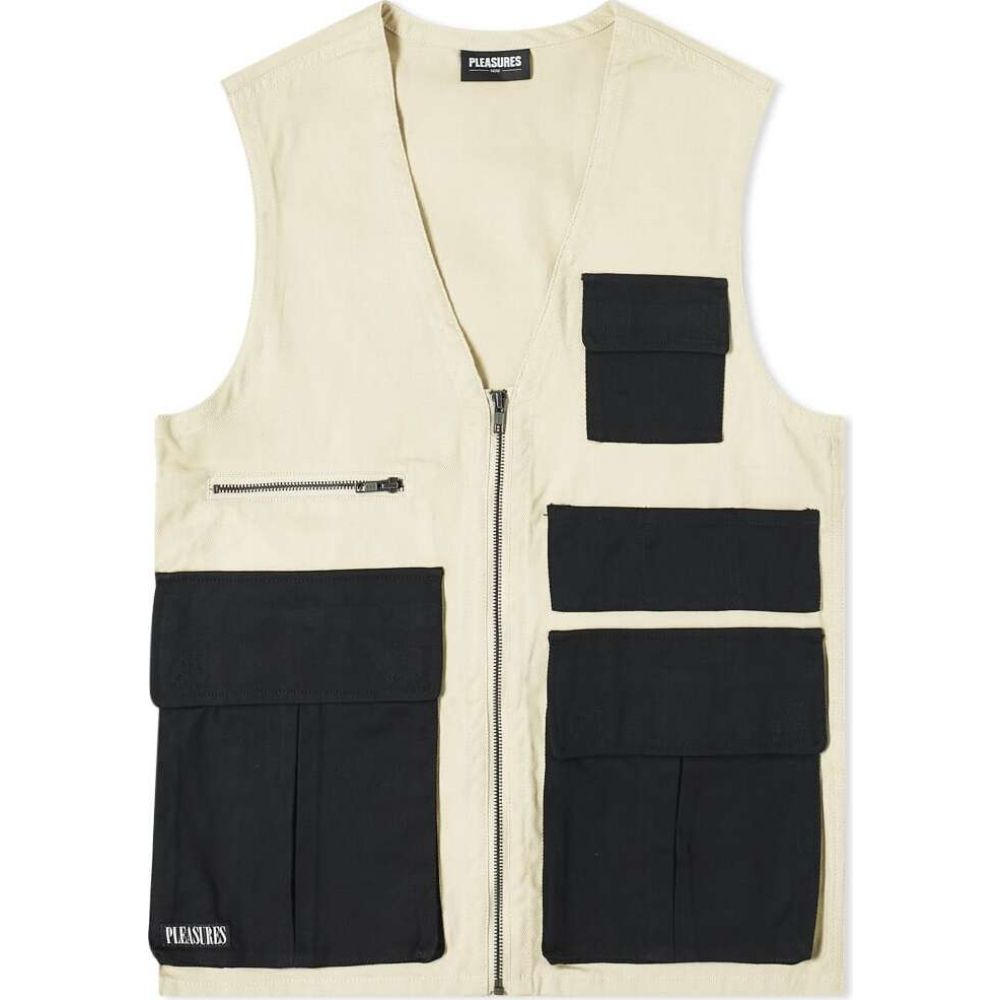 プレジャーズ PLEASURES メンズ ベスト・ジレ トップス【Fade Tactical Vest】Khaki