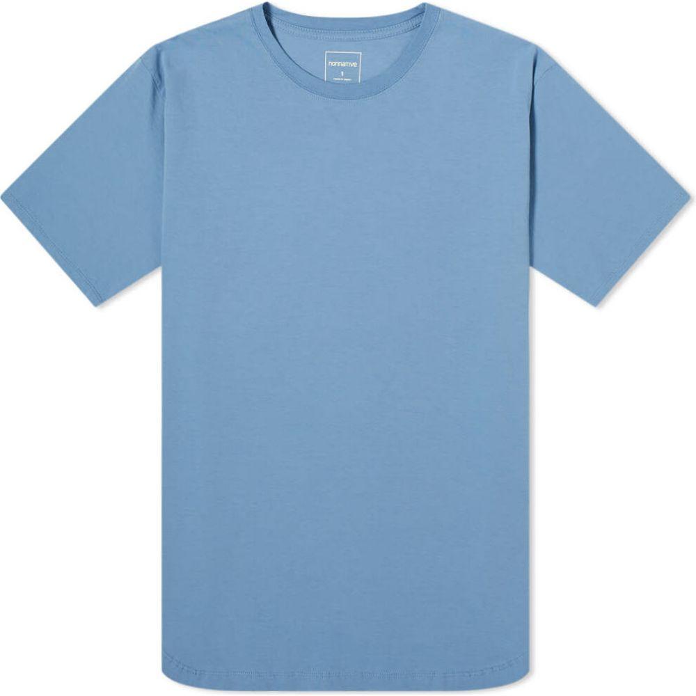 ノンネイティブ Nonnative メンズ Tシャツ トップス【Festival Tee】Blue