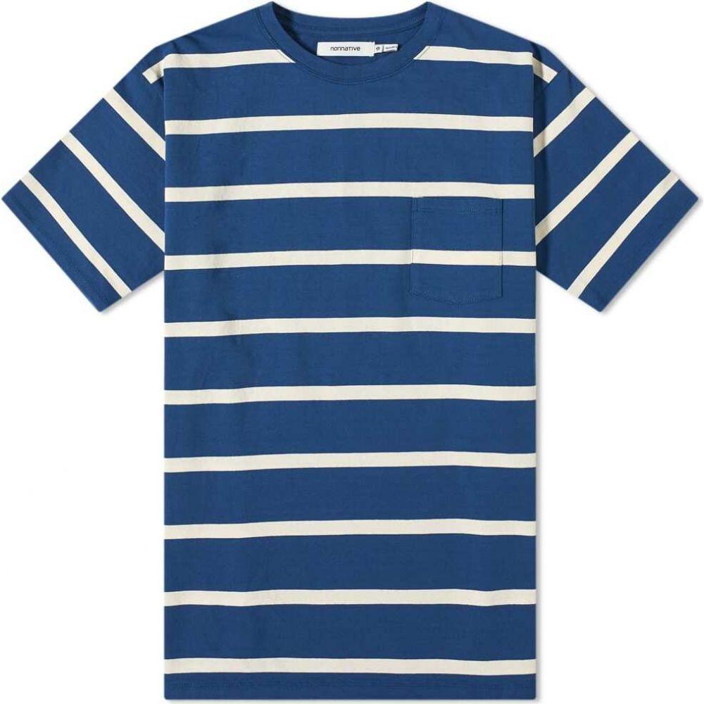 ノンネイティブ Nonnative メンズ Tシャツ トップス【Dweller Tee】Blue