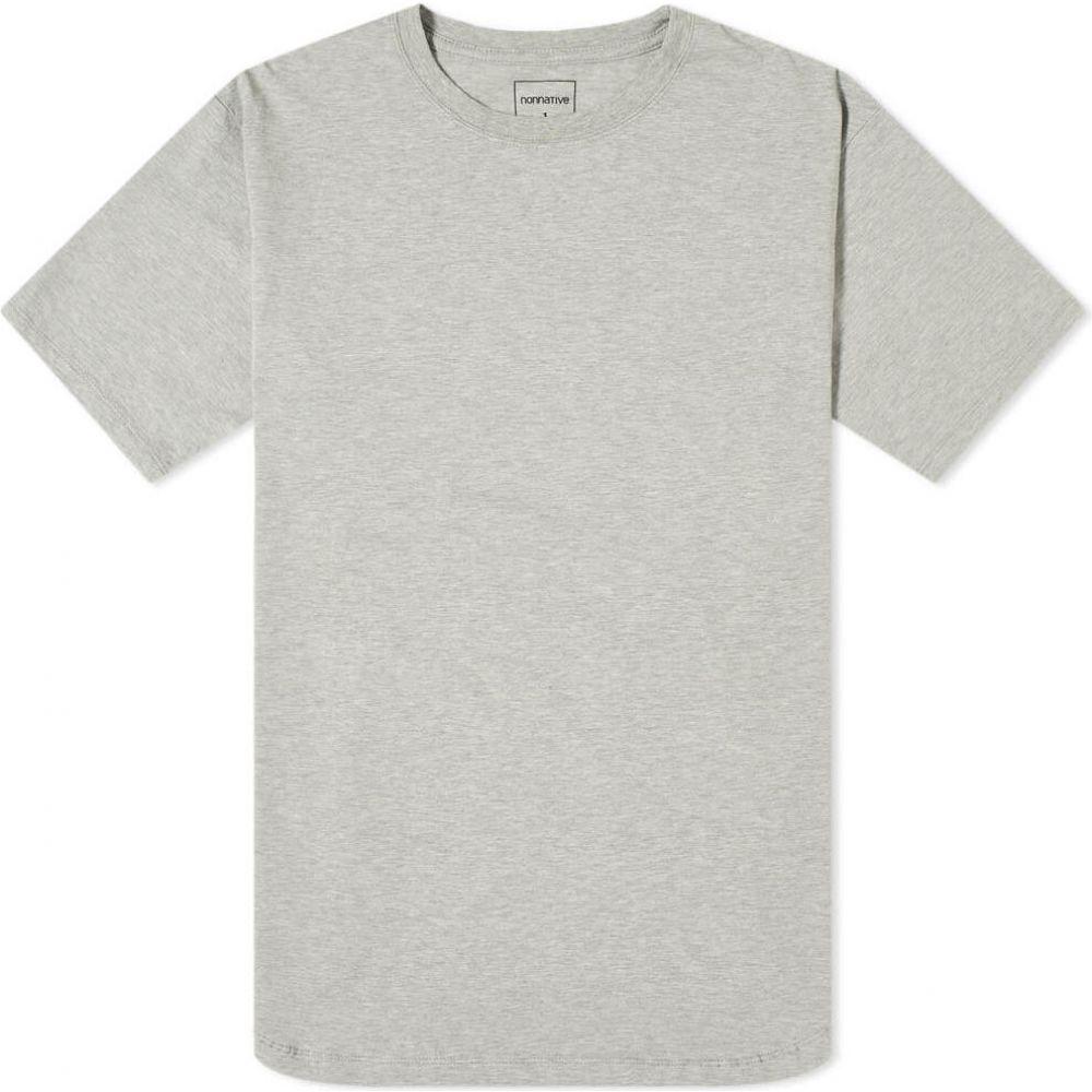 ノンネイティブ Nonnative メンズ Tシャツ トップス【Village Tee】Heather Grey