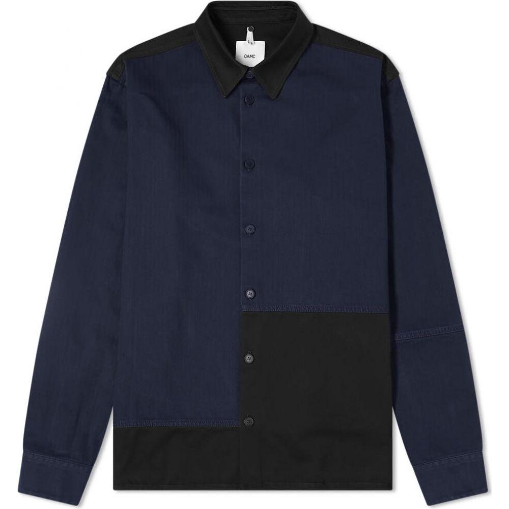 オーエーエムシー OAMC メンズ シャツ トップス【Cascade Panel Shirt】Factory Blue