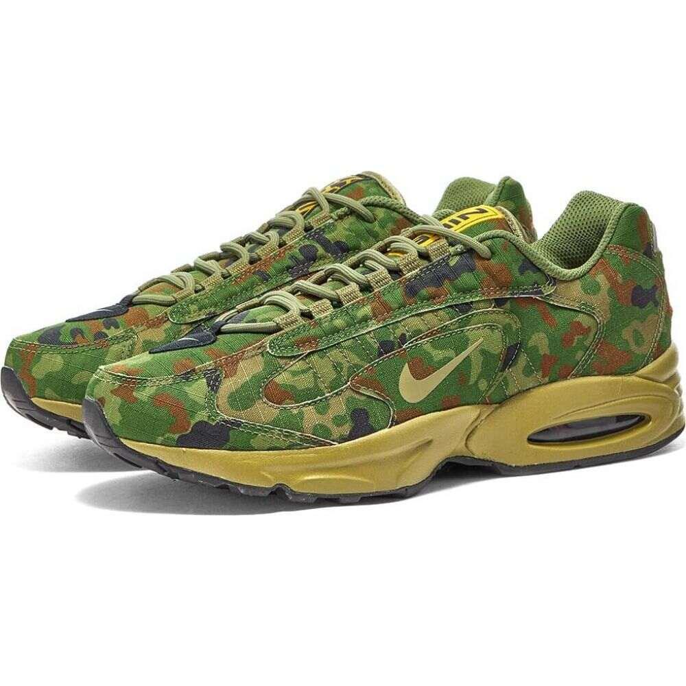 ナイキ Nike メンズ スニーカー シューズ・靴【Air Max Triax 96】Safari/Green/Chocolate