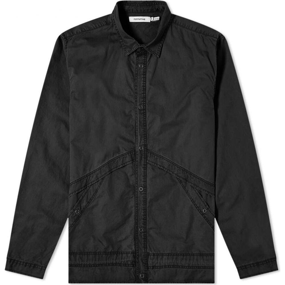 ノンネイティブ Nonnative メンズ ジャケット コーチジャケット シャツジャケット アウター【Coach Shirt Jacket】Black