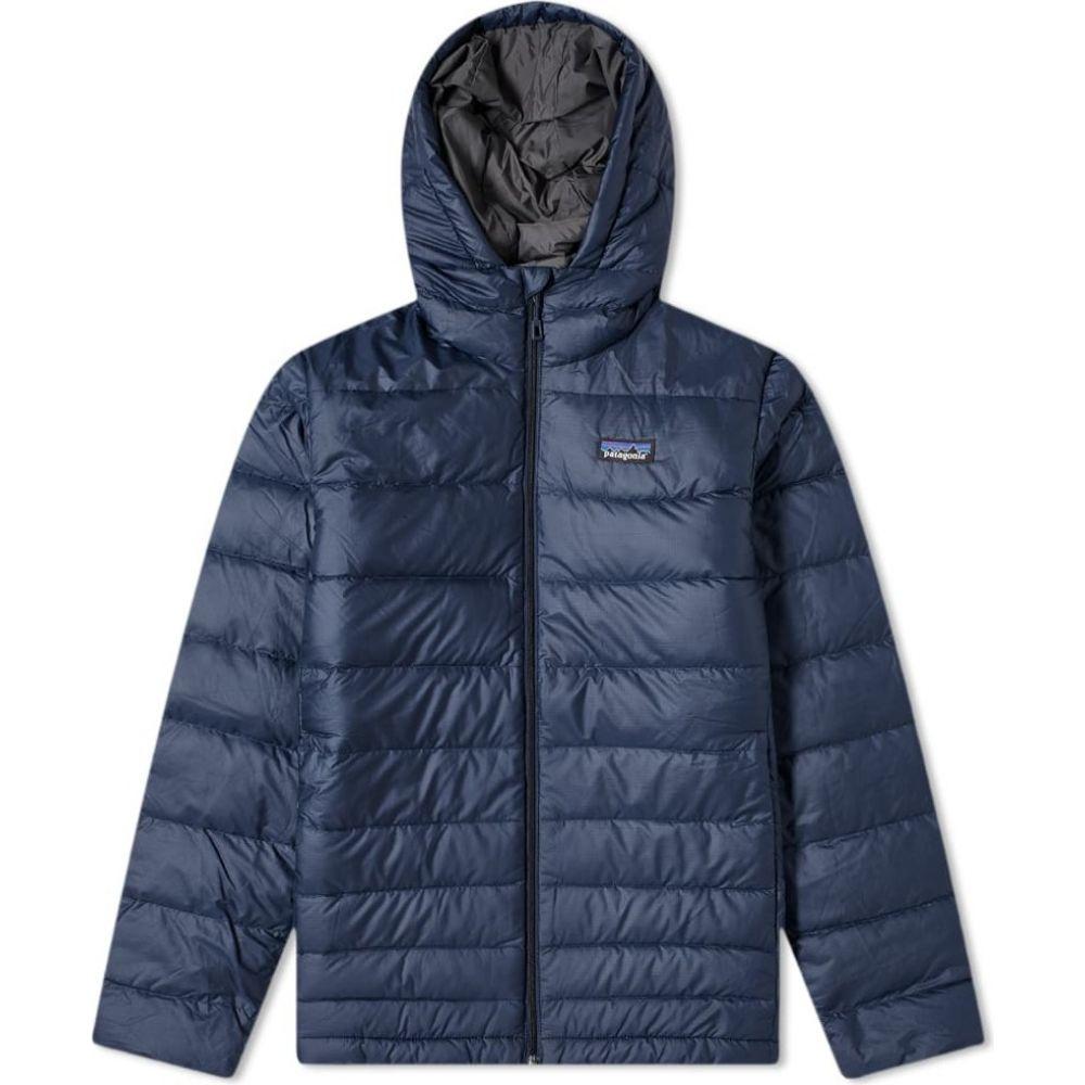 パタゴニア Patagonia メンズ ダウン・中綿ジャケット アウター【Hi-Loft Down Sweater Hoody】Navy Blue