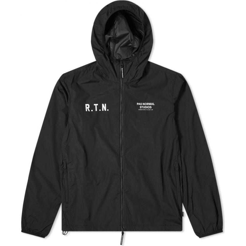 パス ノーマル スタジオ Pas Normal Studios メンズ ジャケット アウター【Pas Normal Off-Race Stow Away Jacket】Black