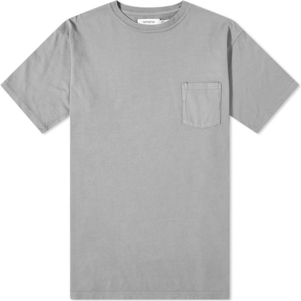 ノンネイティブ Nonnative メンズ Tシャツ トップス【Dweller Overdyed Tee】Grey