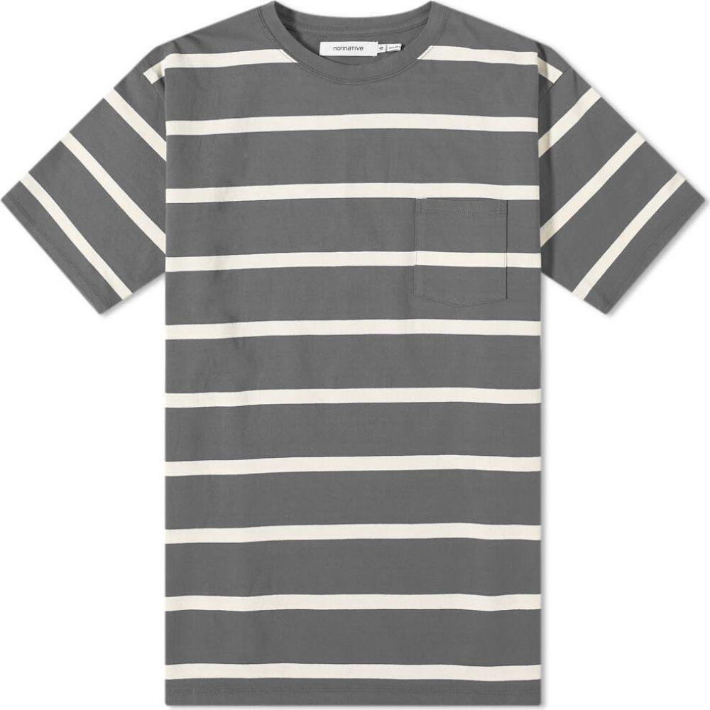 ノンネイティブ Nonnative メンズ Tシャツ トップス【Dweller Tee】Grey