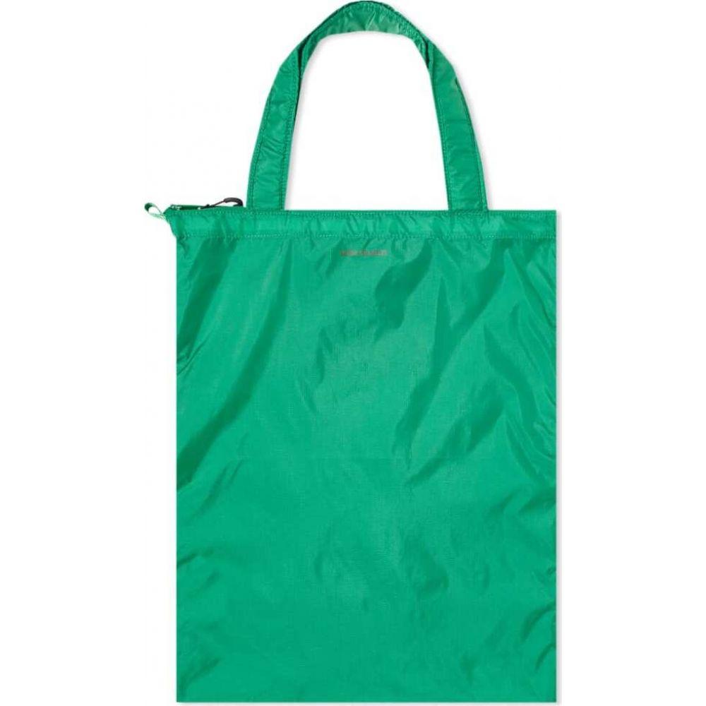 ノースプロジェクト Norse Projects メンズ トートバッグ バッグ【Packable Tote Bag】Sporting Green