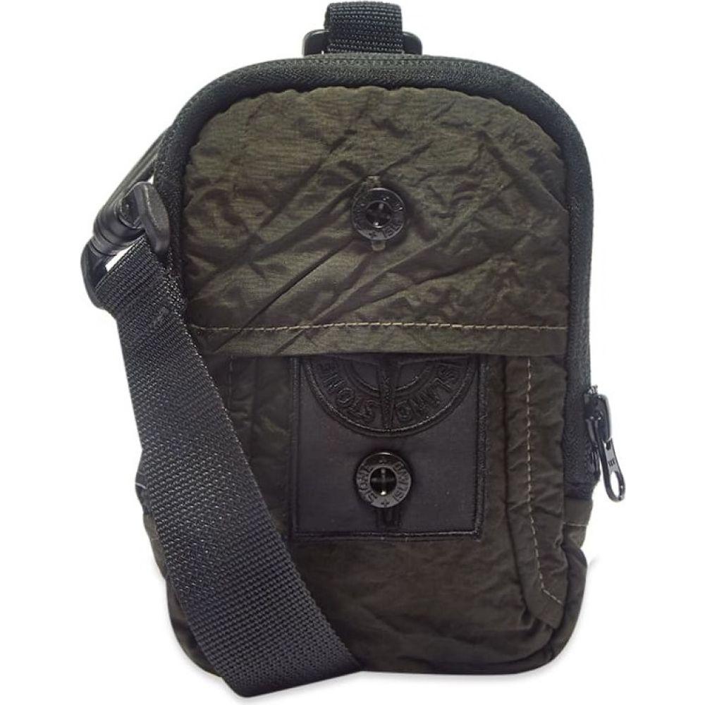 ストーンアイランド Stone Island Shadow Project メンズ ショルダーバッグ バッグ【Garment Dyed Nylon Shoulder Bag】Charcoal