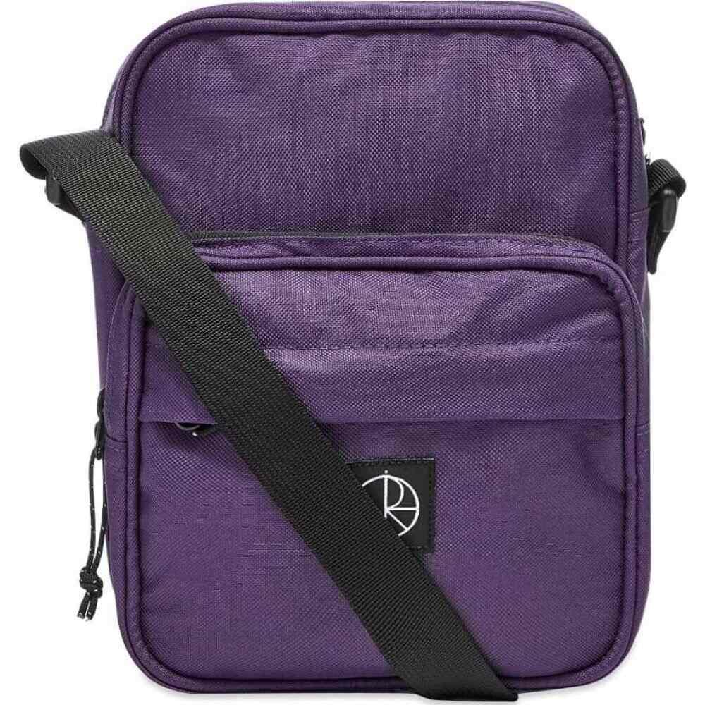 ポーラー スケート カンパニー Polar Skate Co. メンズ ショルダーバッグ バッグ【Cordura Pocket Dealer Bag】Purple