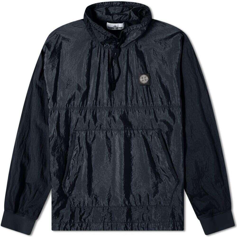 ストーンアイランド Stone Island メンズ ジャケット アウター【Garment Dyed Nylon Ripstop Metal Smock Jacket】Navy Blue