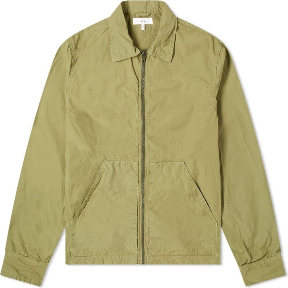 セーブカーキユナイテッド Save Khaki メンズ ジャケット アウター【Easy Zip Through Jacket】Fatigue