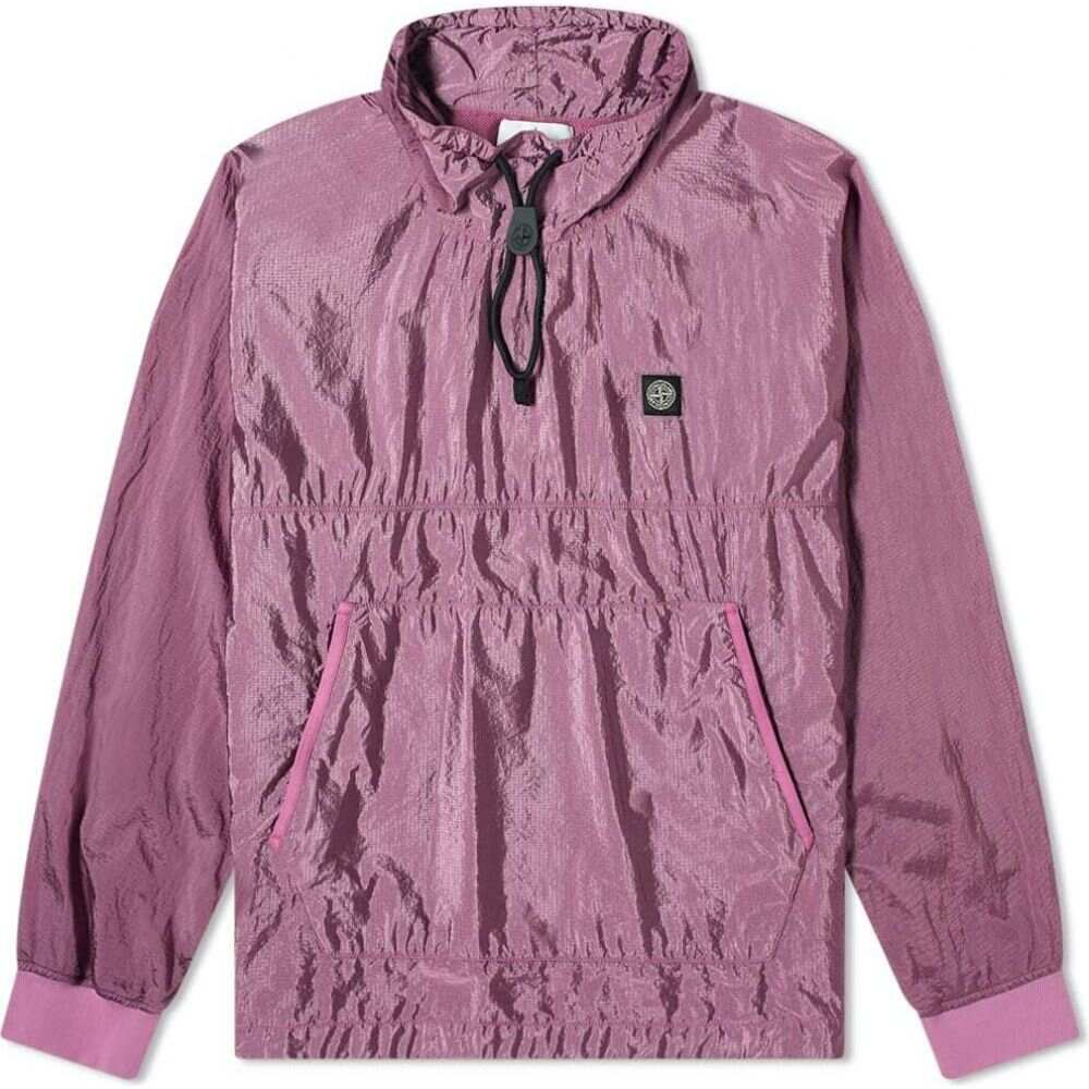 ストーンアイランド Stone Island メンズ ジャケット アウター【Garment Dyed Nylon Ripstop Metal Smock Jacket】Rose Quartz