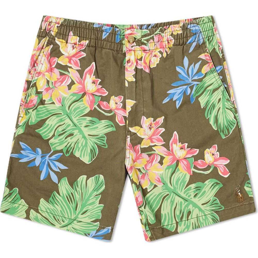 ラルフ ローレン Polo Ralph Lauren メンズ ショートパンツ ボトムス・パンツ【Floral Print Prepster Drawstring Short】Surplus Tropical