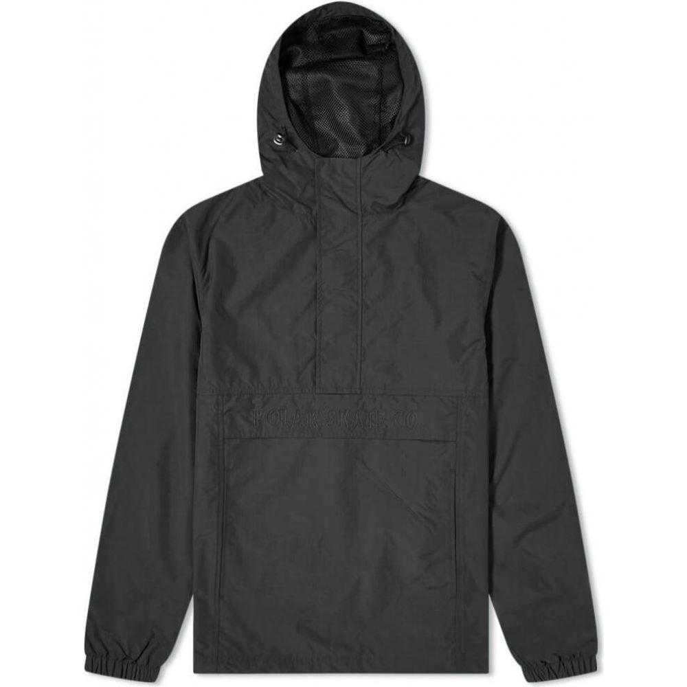 ポーラー スケート カンパニー メンズ アウター ジャケット Black Polar アノラック 限定価格セール Co. 買収 Jacket サイズ交換無料 Anorak Skate