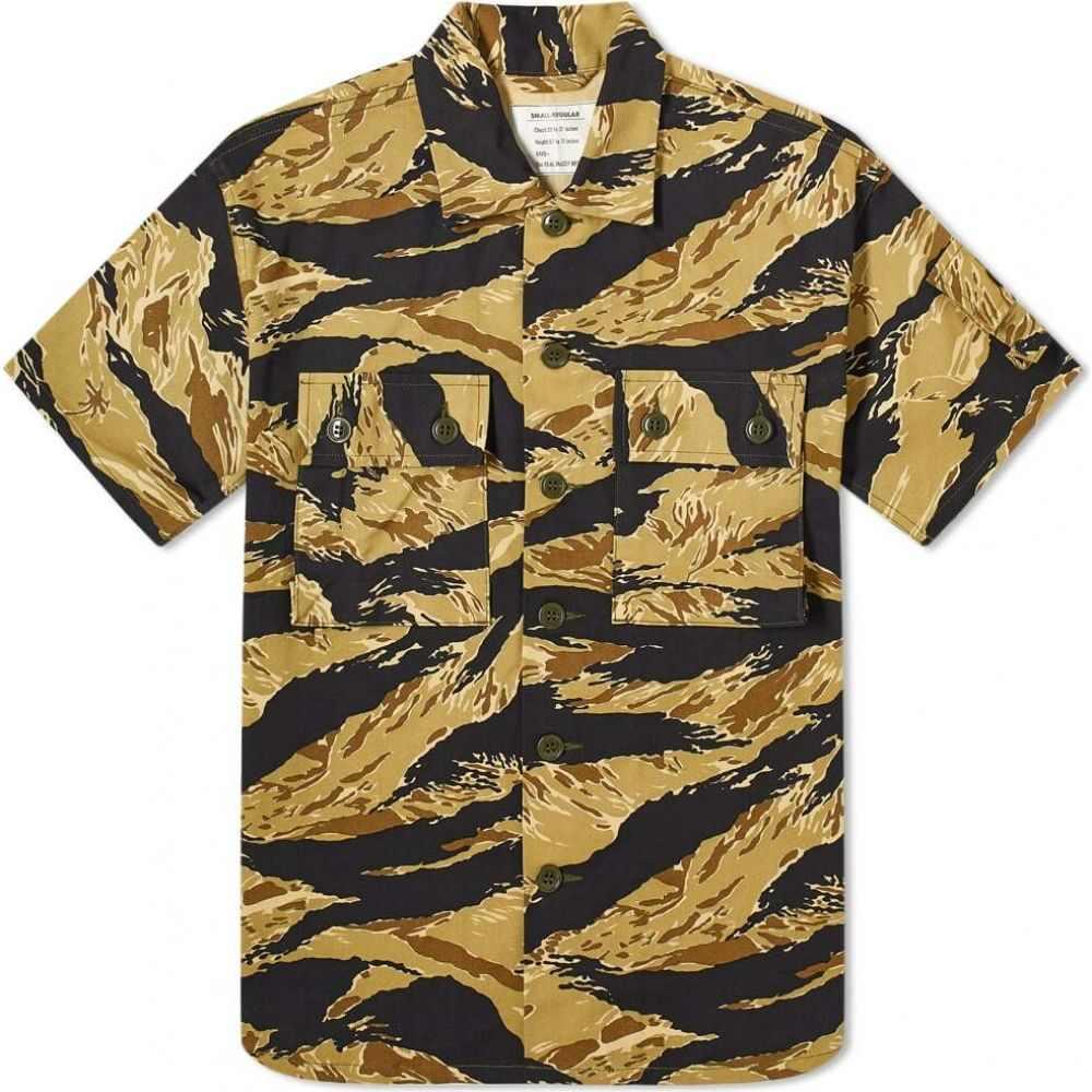 ザ リアル マッコイズ The Real McCoys メンズ 半袖シャツ トップス【The Real McCoy's Tiger Camouflage Shirt】Gold